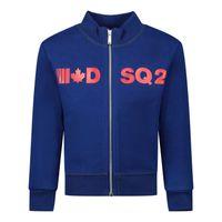 Picture of Dsquared2 DQ04DA baby vest cobalt blue