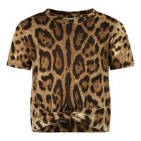 Picture of Dolce & Gabbana L2JTFD FS78S baby shirt panther
