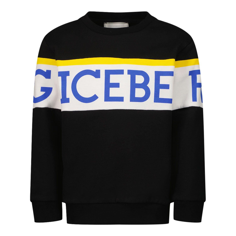 Picture of Iceberg MFICE2332B baby sweater black