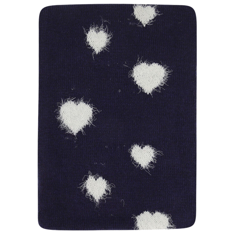 Afbeelding van MonnaLisa 178009 kinder sjaal navy