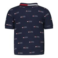 Afbeelding van Tommy Hilfiger KN0KN01290 baby polo navy