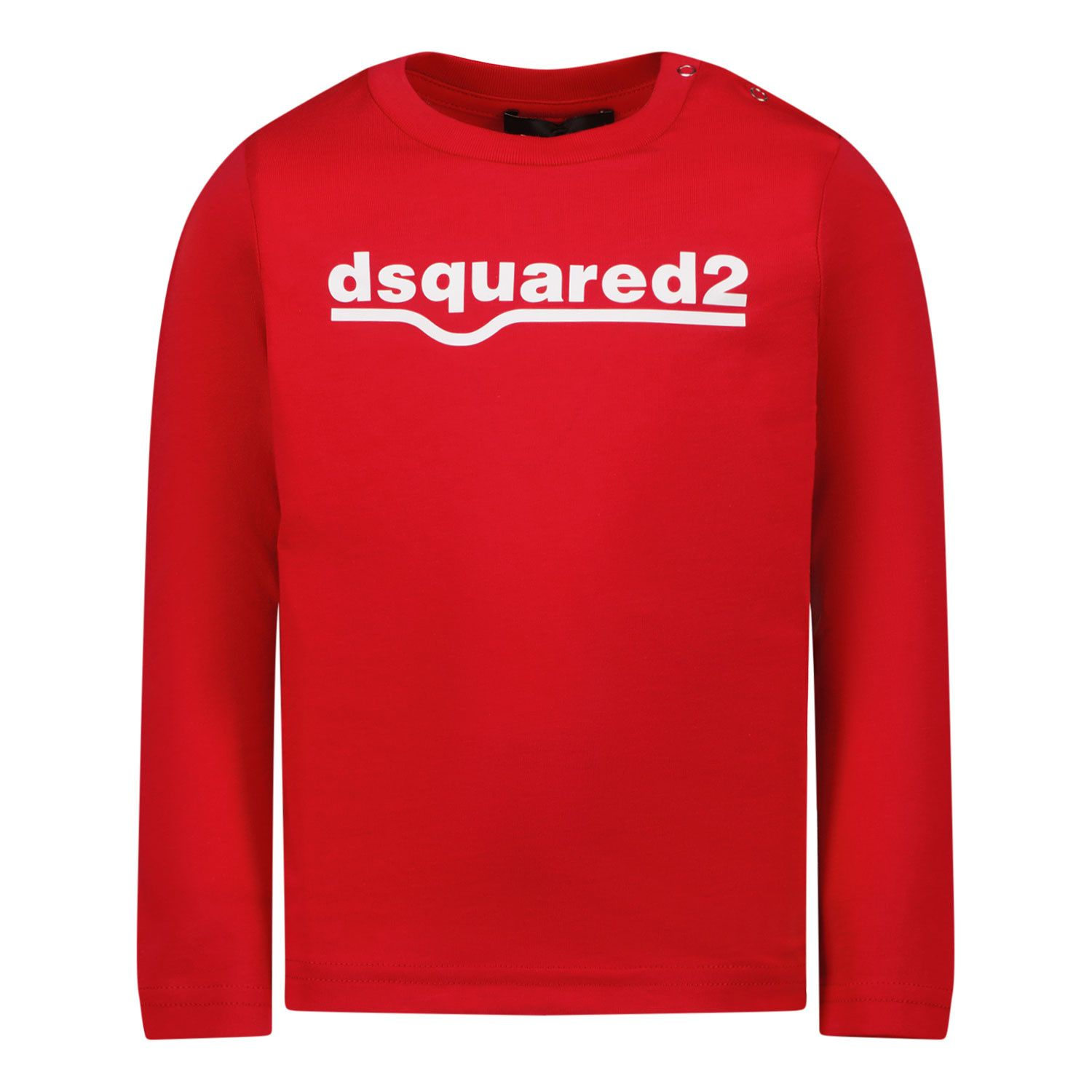 Picture of Dsquared2 DQ0550 baby shirt red