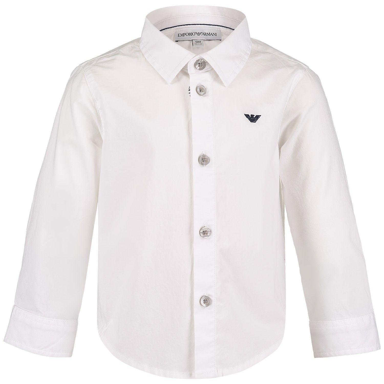 Afbeelding van Armani 8NHC01 baby blouse wit