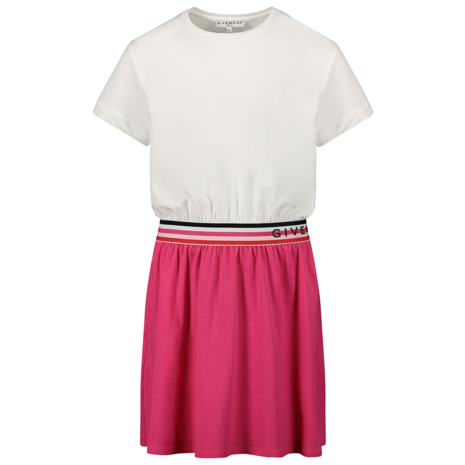 Picture of Givenchy H12149 kids dress fuchsia