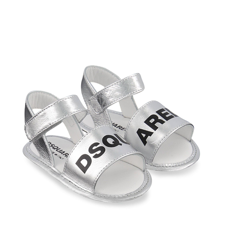 Afbeelding van Dsquared2 66951 baby sandalen zilver