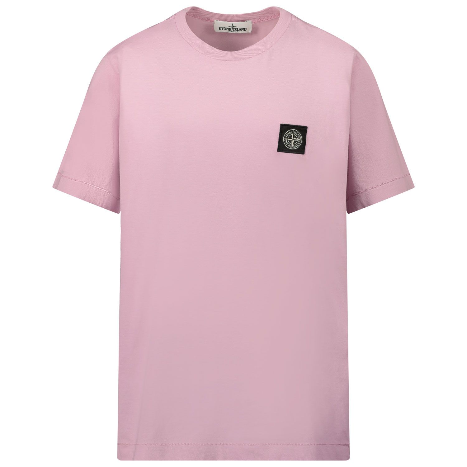 Picture of Stone Island 20147 kids t-shirt lilac
