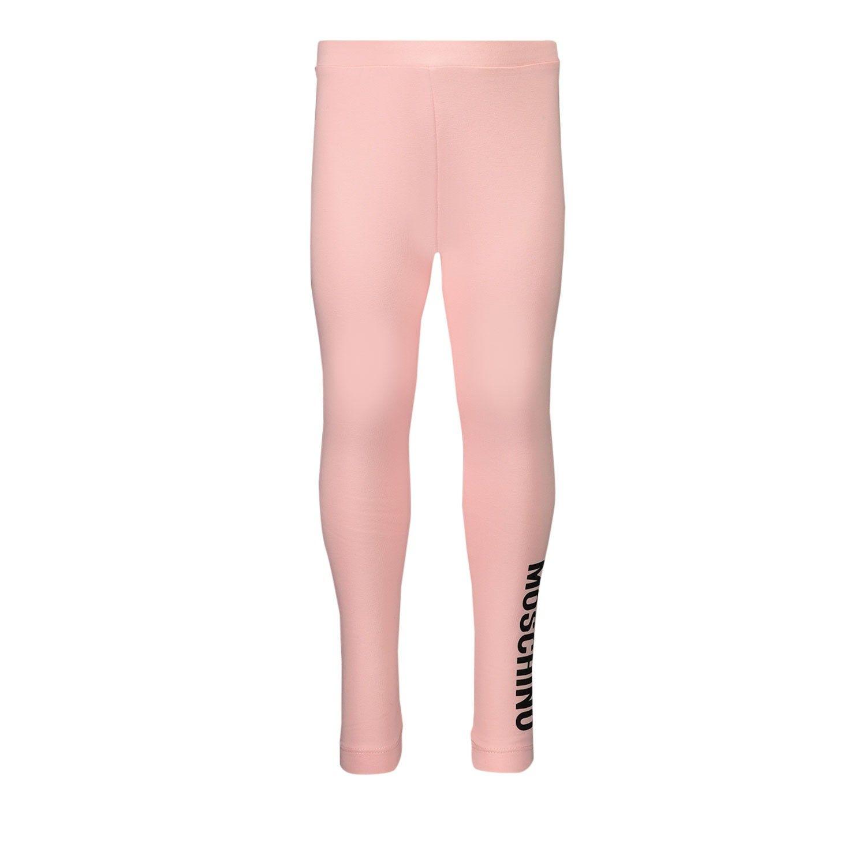 Picture of Moschino MJP02B baby legging light pink