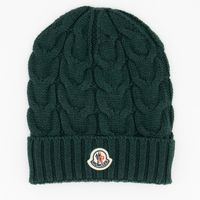 Picture of Moncler 11005 kids hat dark green