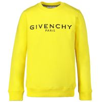 Picture of Givenchy H25167 kids sweater yellow