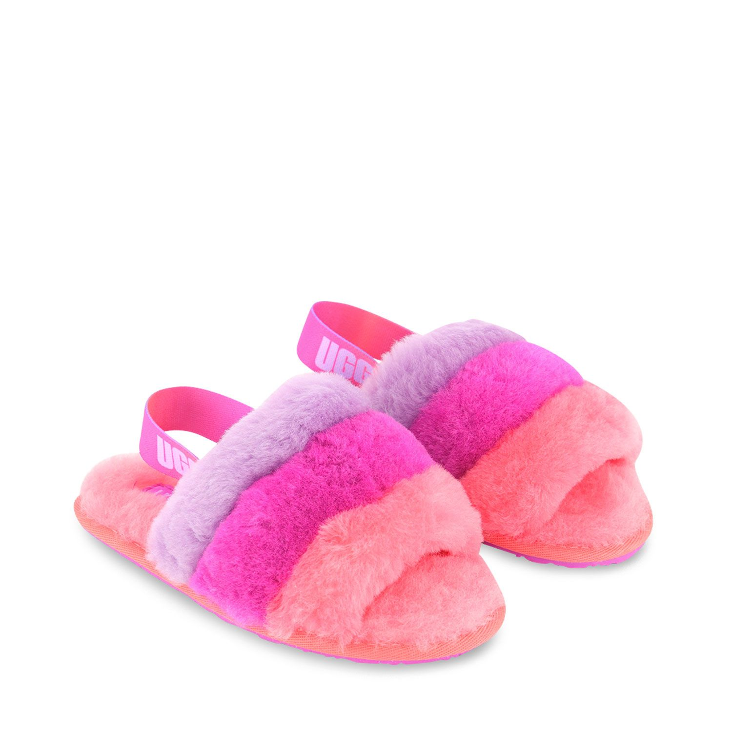 Picture of Ugg 1120073 kids slippers pink