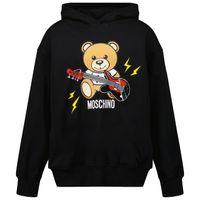 Picture of Moschino HUF04X kids sweater black