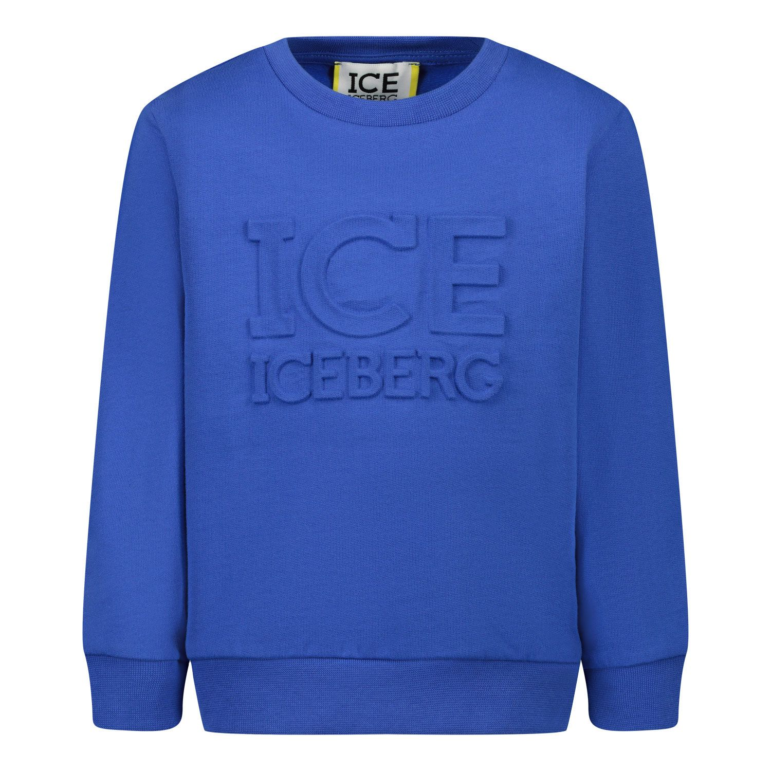 Picture of Iceberg MFICE0305B baby sweater cobalt blue