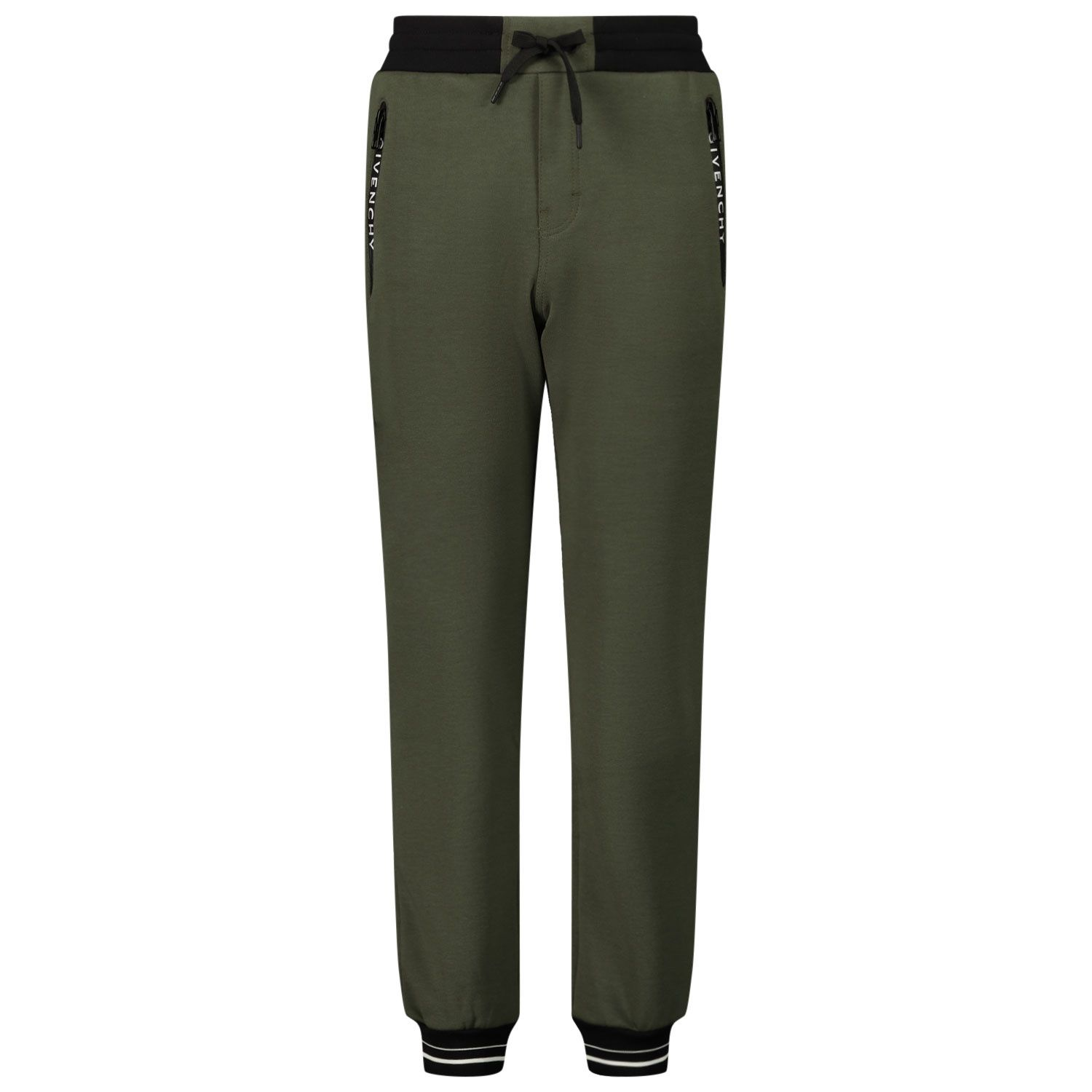 Picture of Givenchy H24103 kids jeans army
