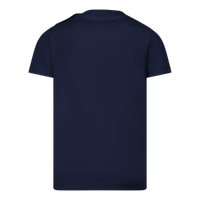 Picture of Dsquared2 DQ0556 baby shirt navy