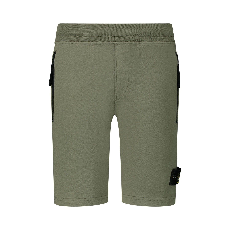 Afbeelding van Stone Island 721661842 kinder shorts olijf groen