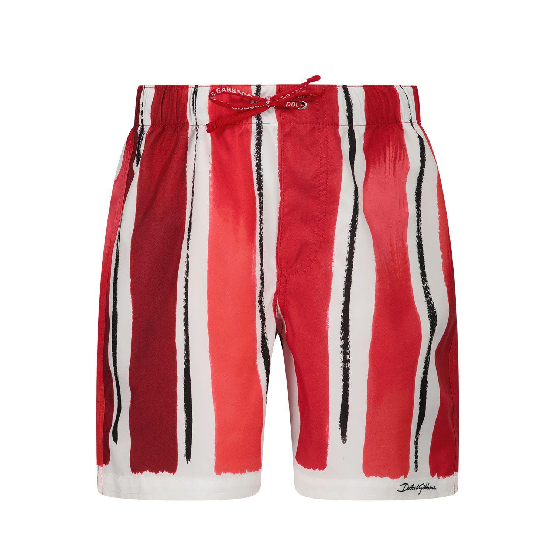 Bild von Dolce & Gabbana L1J818/G7WUJ Kinderschwimmbekleidung Rot