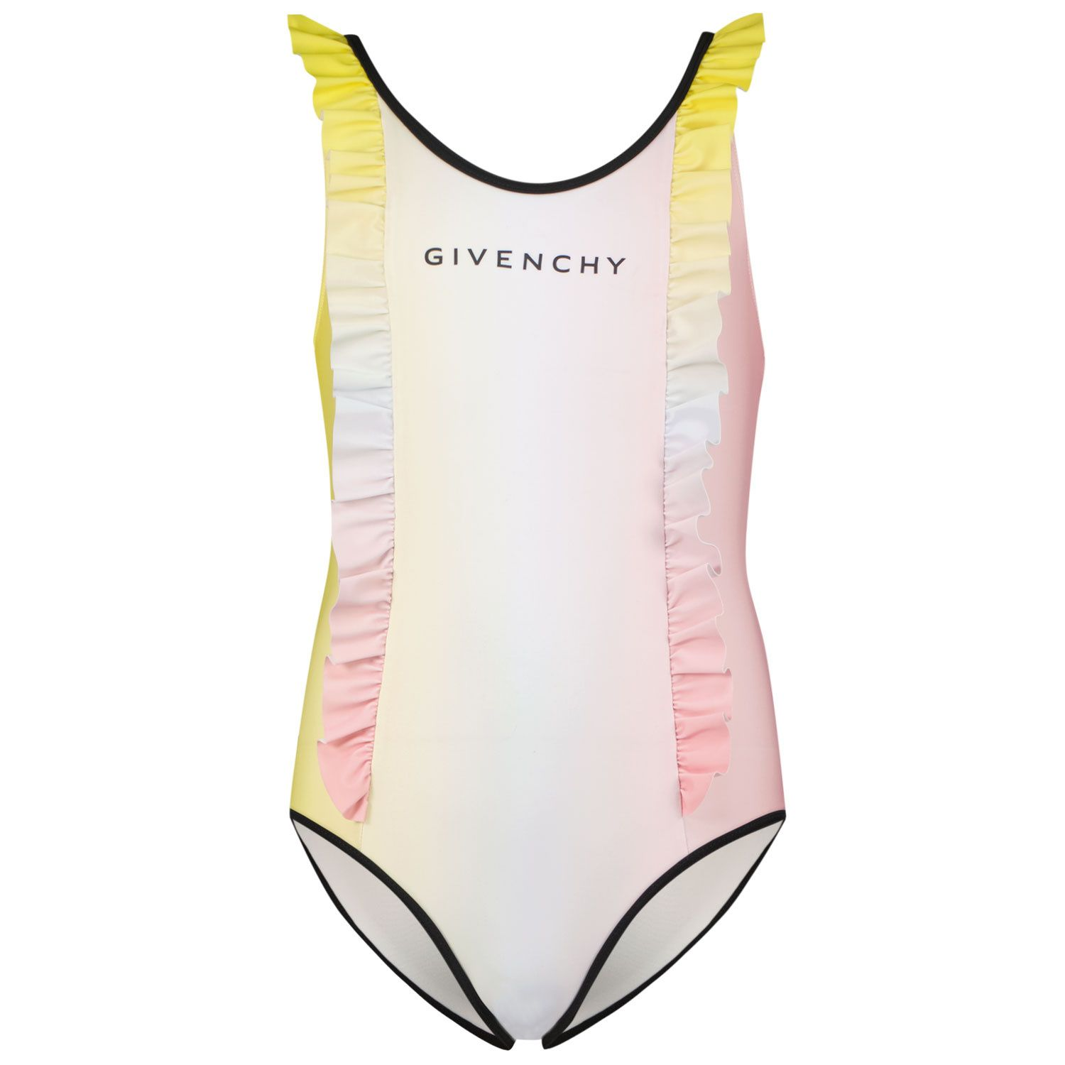 Picture of Givenchy H10037 kids swimwear light pink