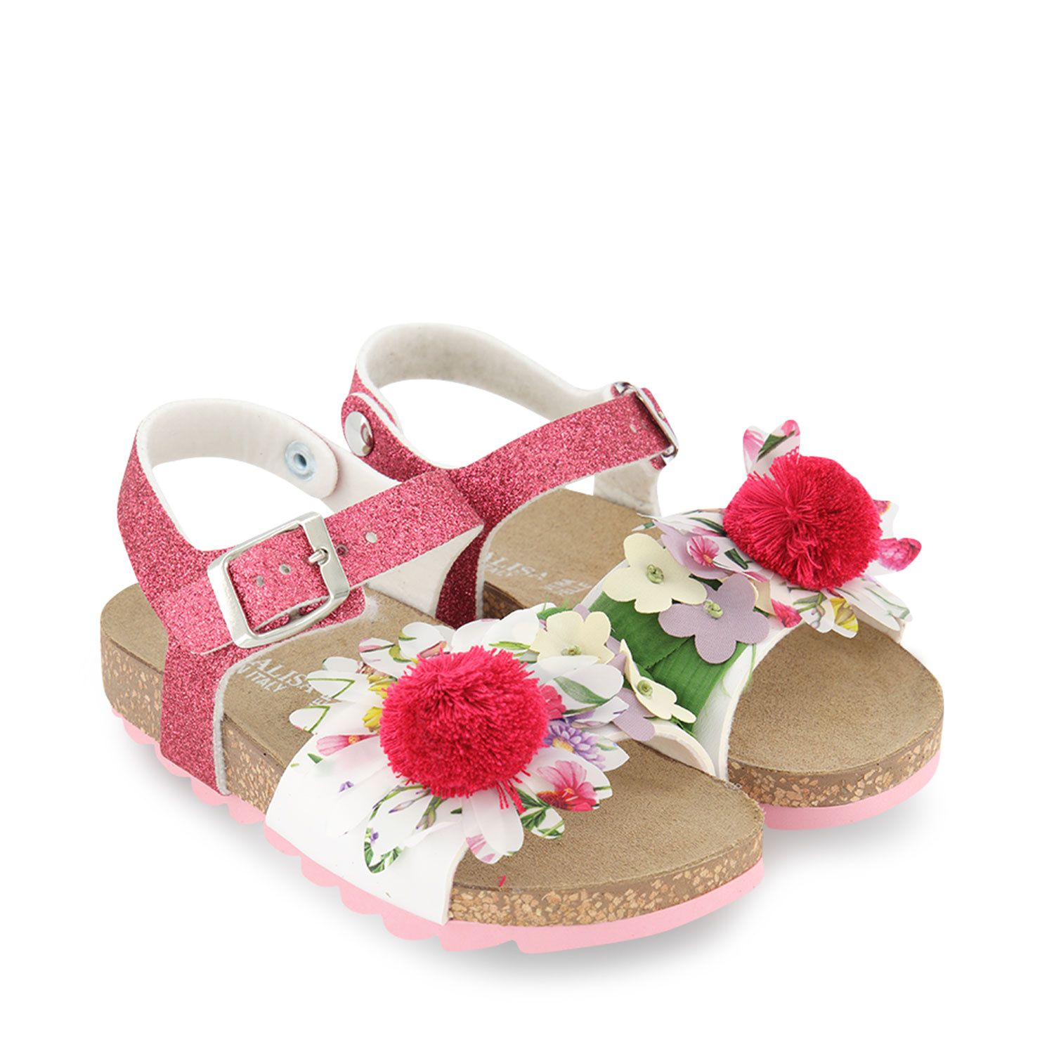 Picture of MonnaLisa 8C7003 kids sandals pink