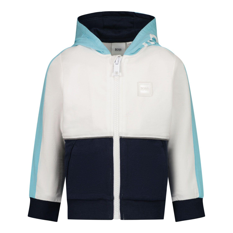 Afbeelding van Boss J05864 baby vest turquoise