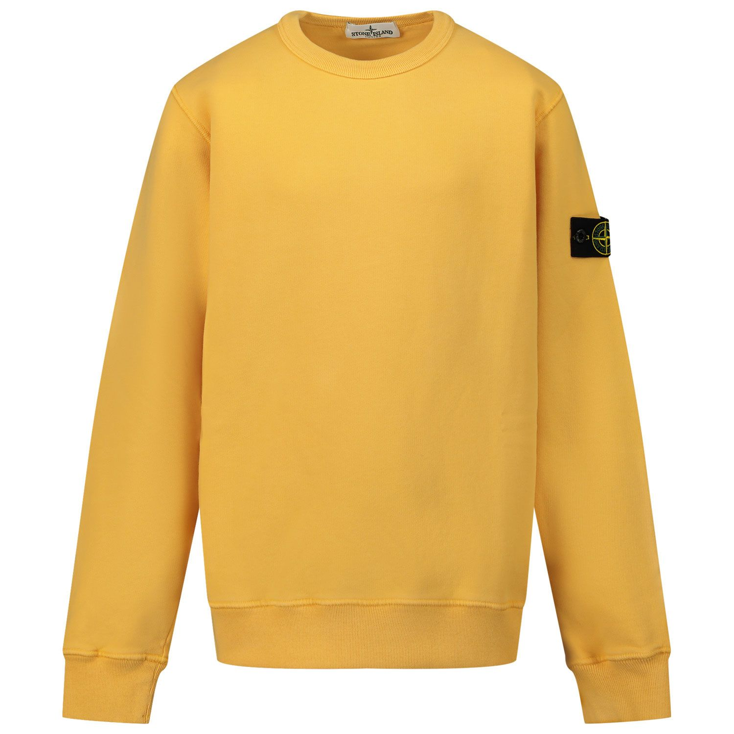 Picture of Stone Island MO731661340 kids sweater yellow