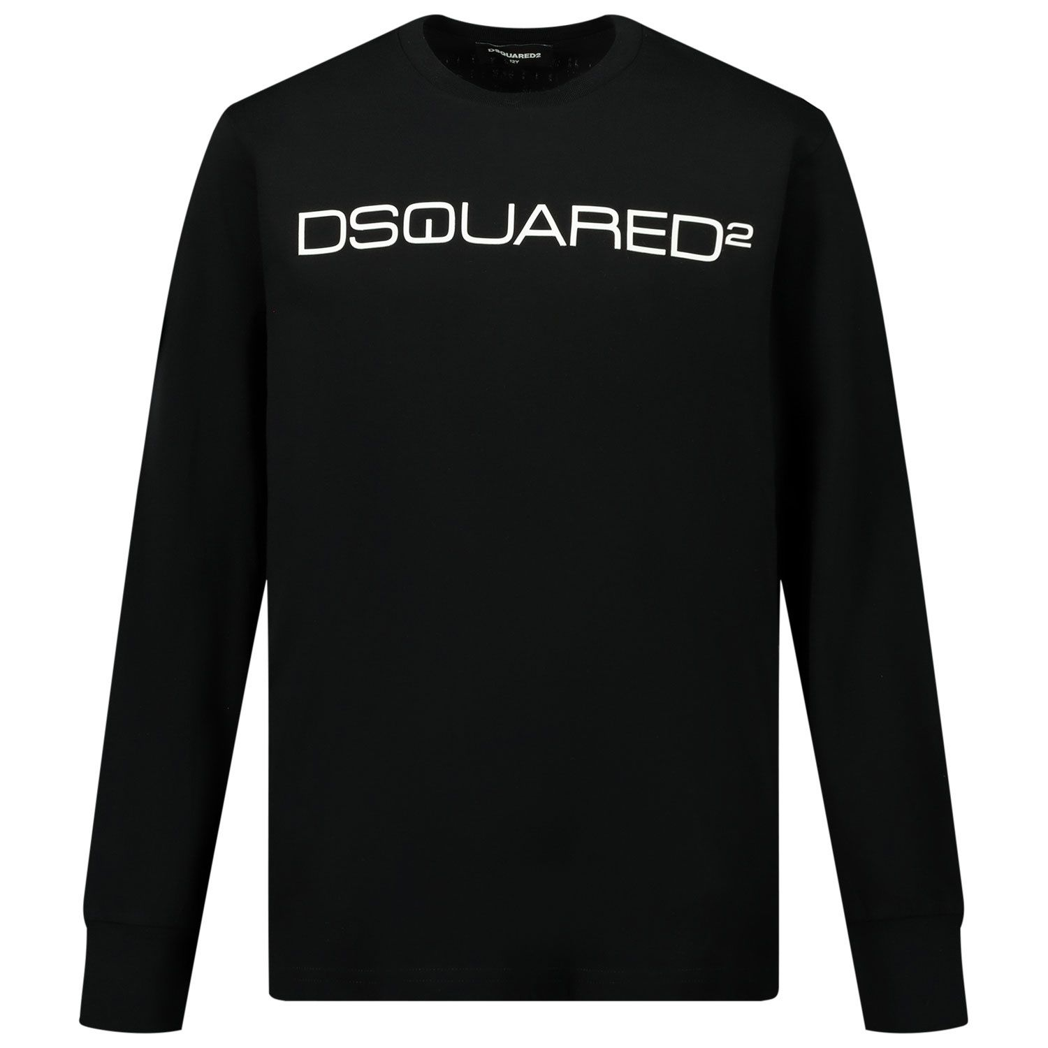 Picture of Dsquared2 DQ0491 kids t-shirt black