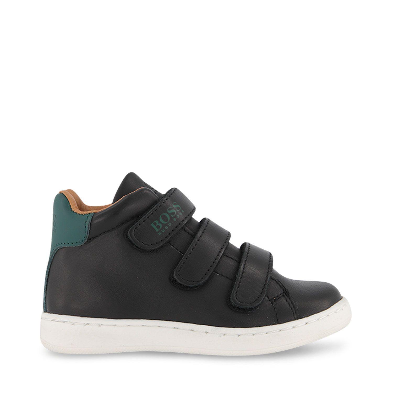 Picture of Boss J09163 kids sneakers black