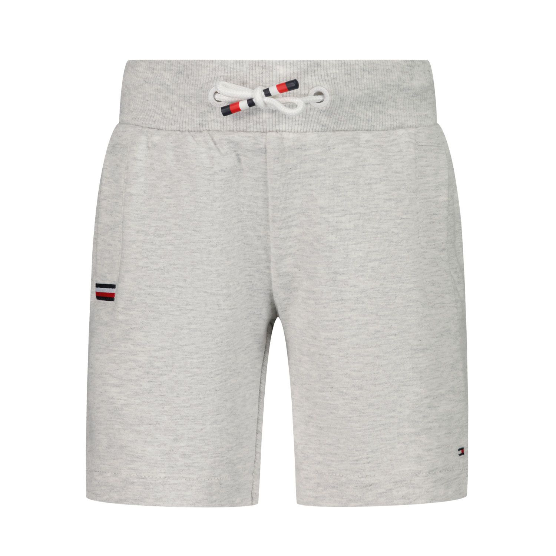 Afbeelding van Tommy Hilfiger KB0KB06597 B baby shorts grijs