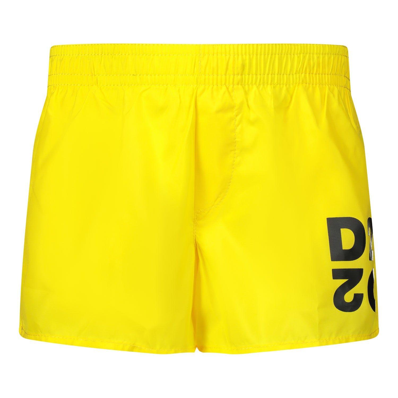 Bild von Dsquared2 DQ04FB Babyschwimmbekleidung Gelb