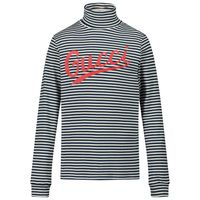 Picture of Gucci 617001 kids sweater navy