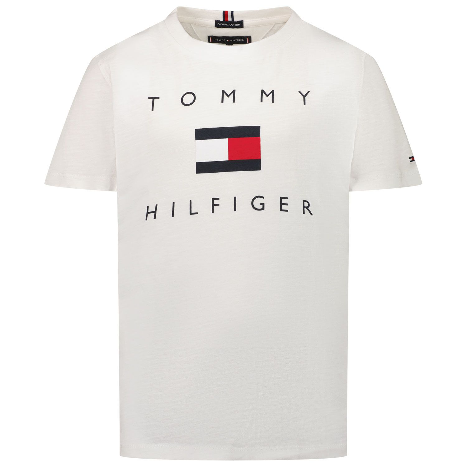 Picture of Tommy Hilfiger KB0KB06523 kids t-shirt white