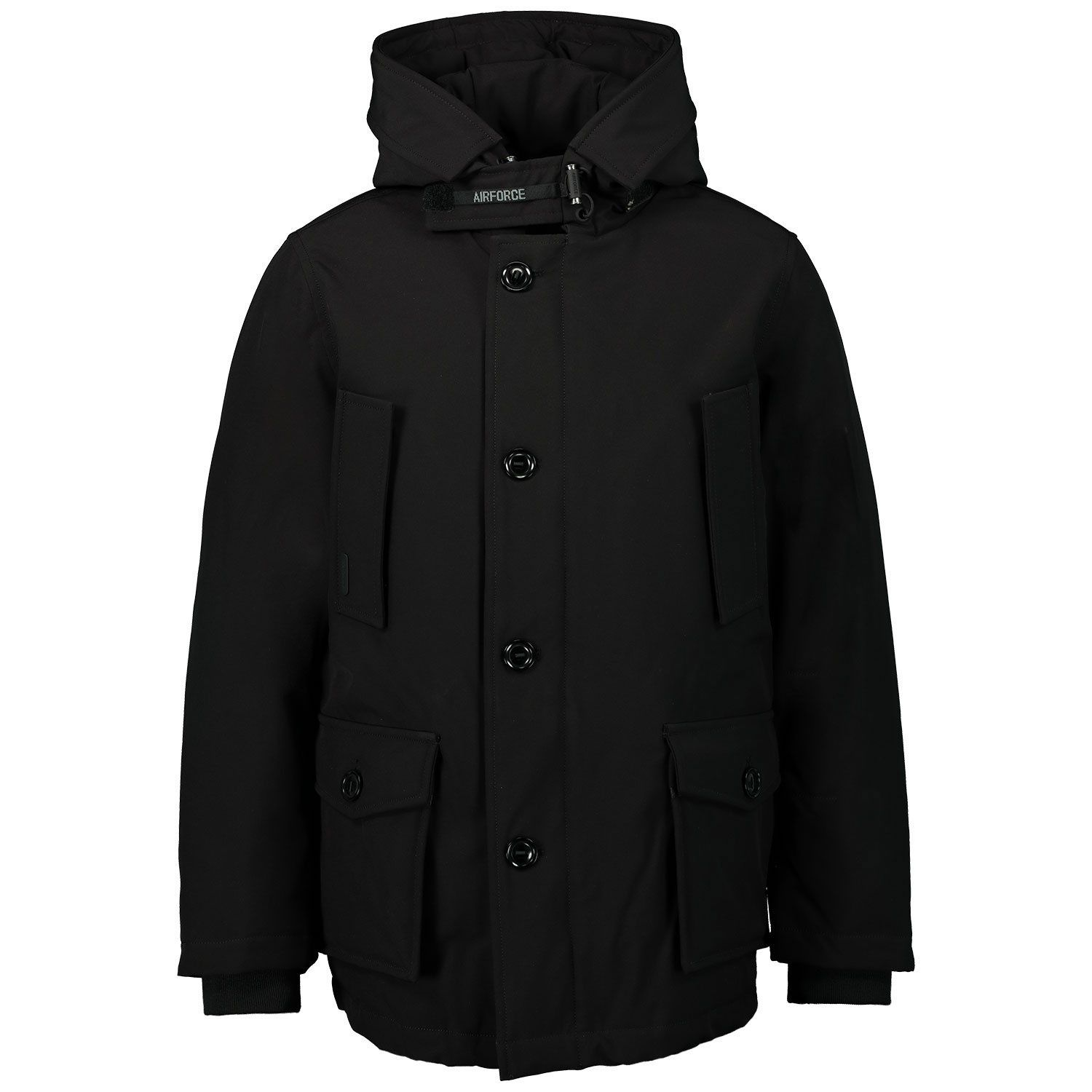 Picture of Airforce FRB0364 kids jacket black