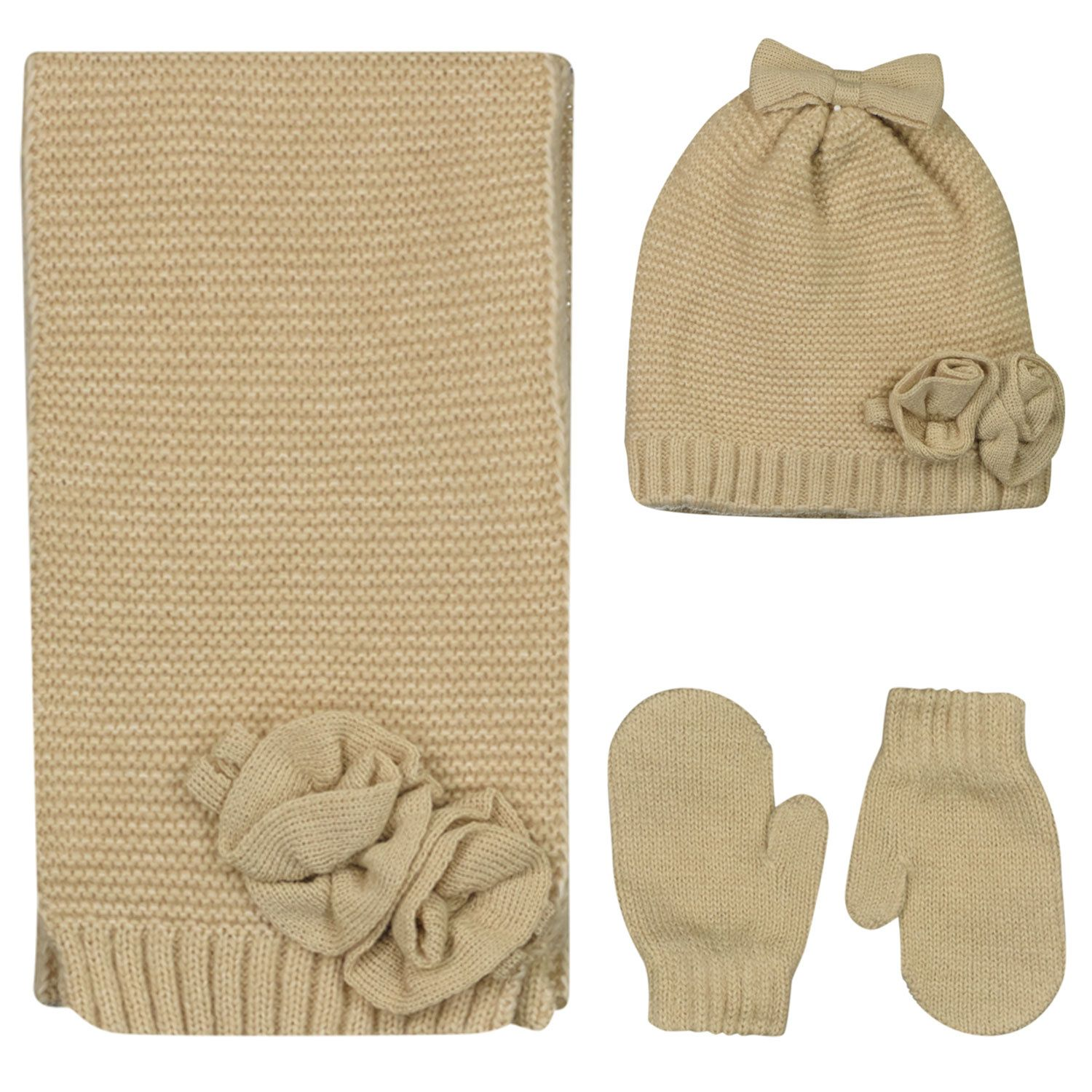 Picture of Mayoral 10105 baby hat beige