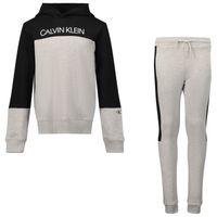 Picture of Calvin Klein IB0IB00952 kids sweatsuit grey