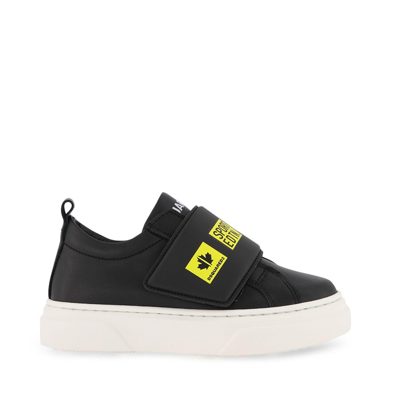 Afbeelding van Dsquared2 68478 kindersneakers zwart