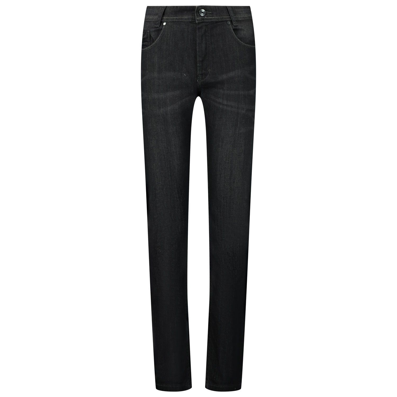 Picture of Boss J24642 kids jeans black