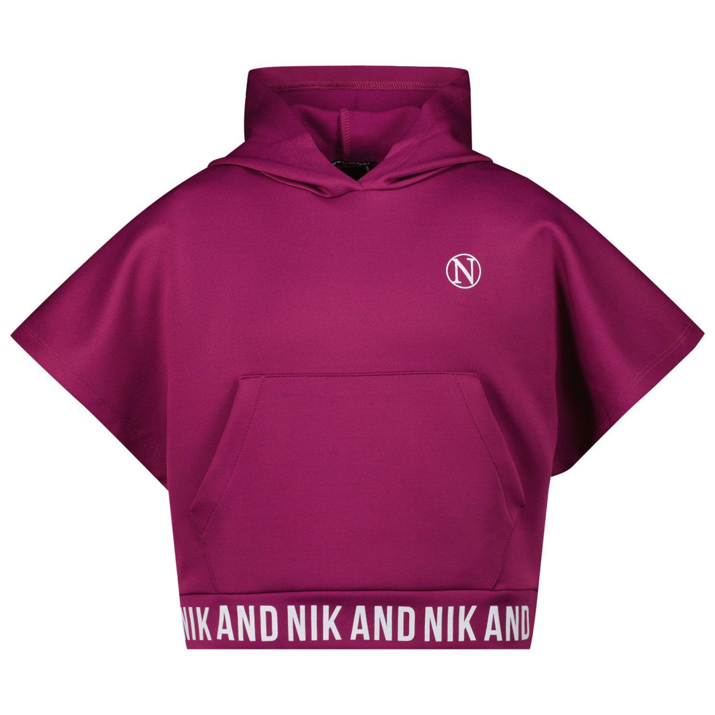 Picture of NIK&NIK G8685 kids sweater purple