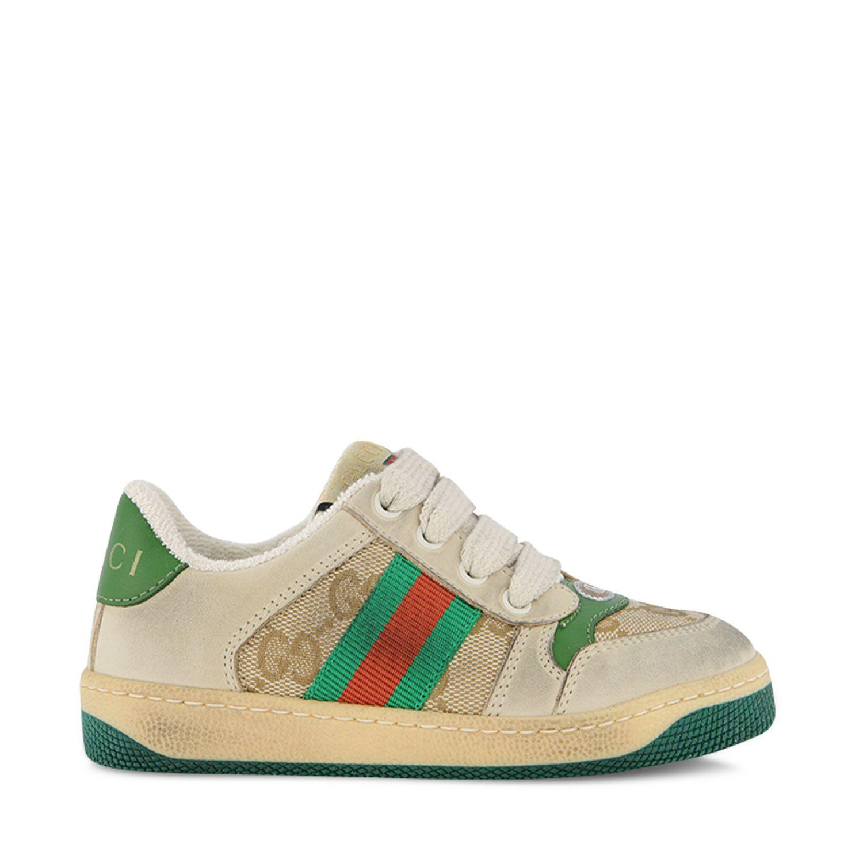 Afbeelding van Gucci 626625 kindersneakers groen