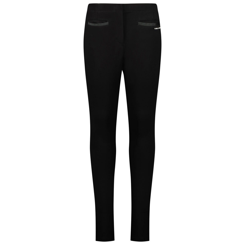 Picture of Karl Lagerfeld Z14130 kids jeans black