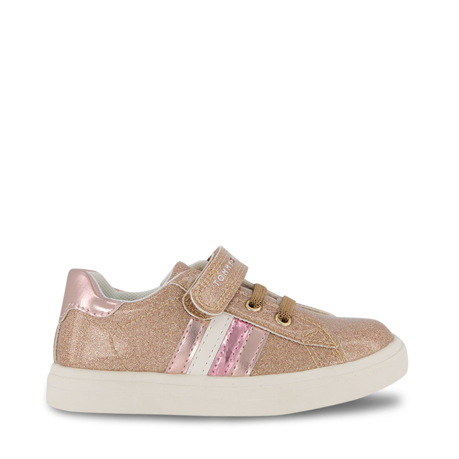 Picture of Tommy Hilfiger 31149 kids sneakers light pink