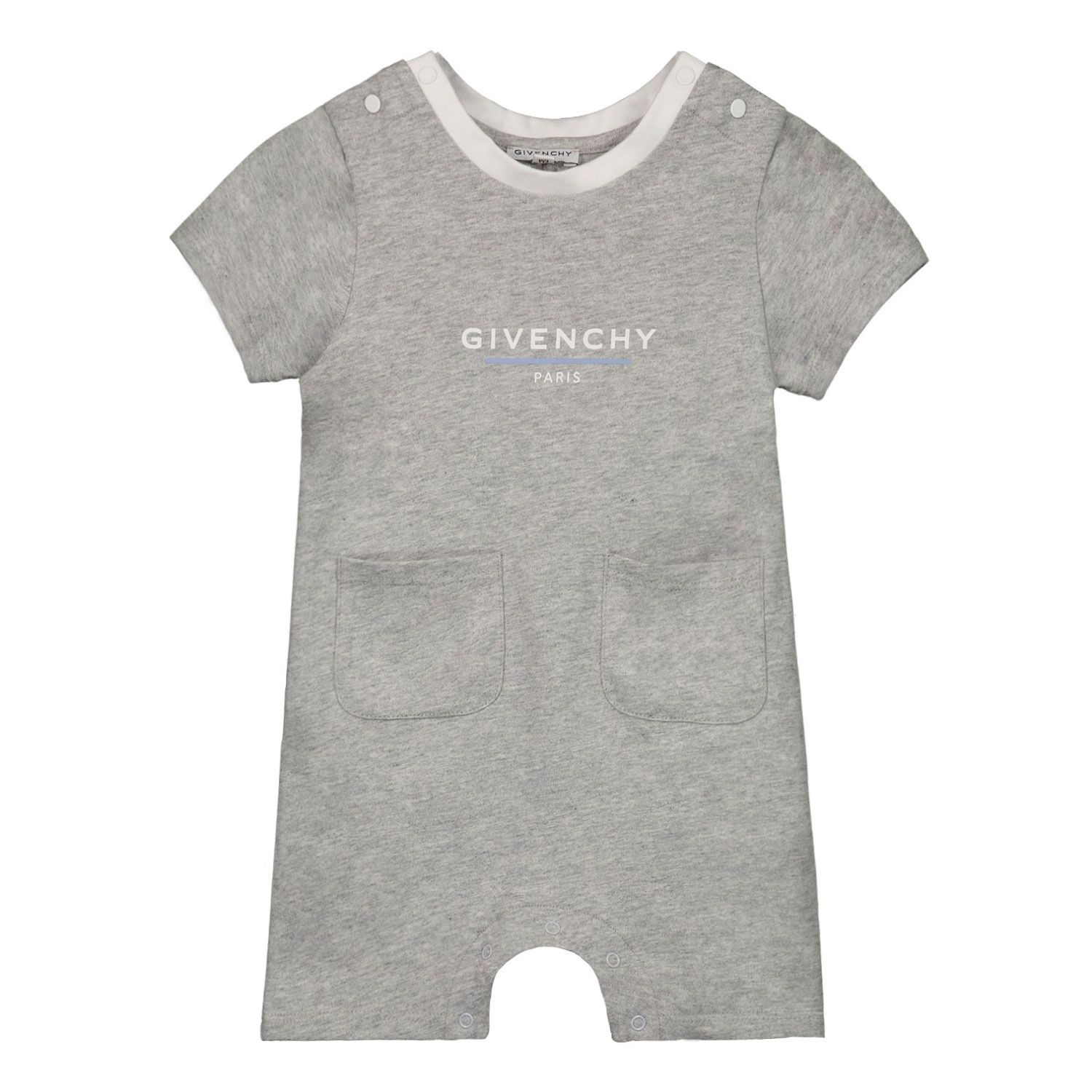 Picture of Givenchy H94055 baby playsuit light gray
