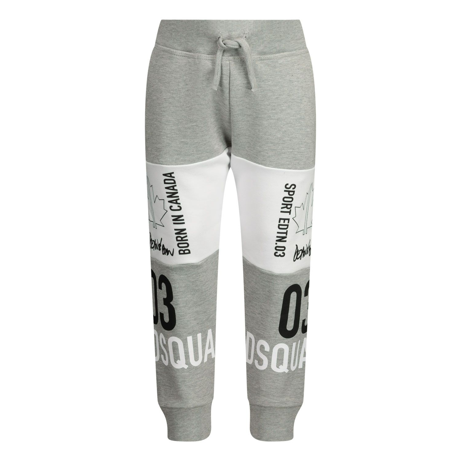 Picture of Dsquared2 DQ0009 baby pants grey