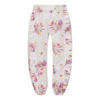 Picture of MonnaLisa 317413 baby pants white