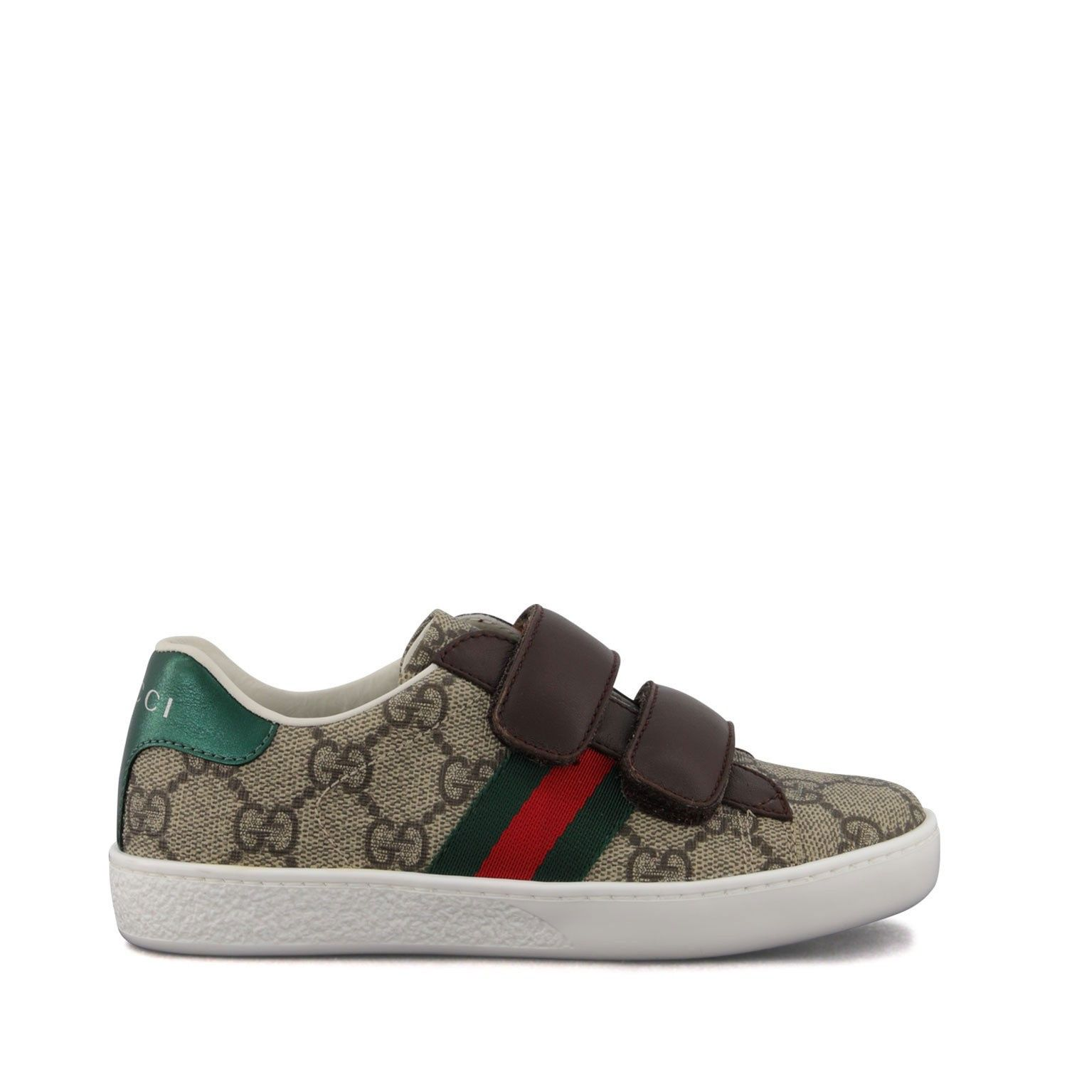 Picture of Gucci 463088 9C220 kids sneakers brown