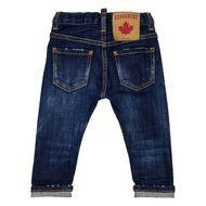Afbeelding van Dsquared2 DQ01TC D001V babybroekje jeans