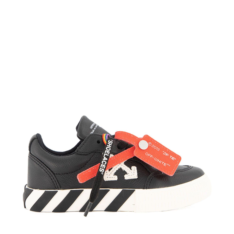 Afbeelding van Off-White OGIA001F21LEA0011001 kindersneakers zwart/wit