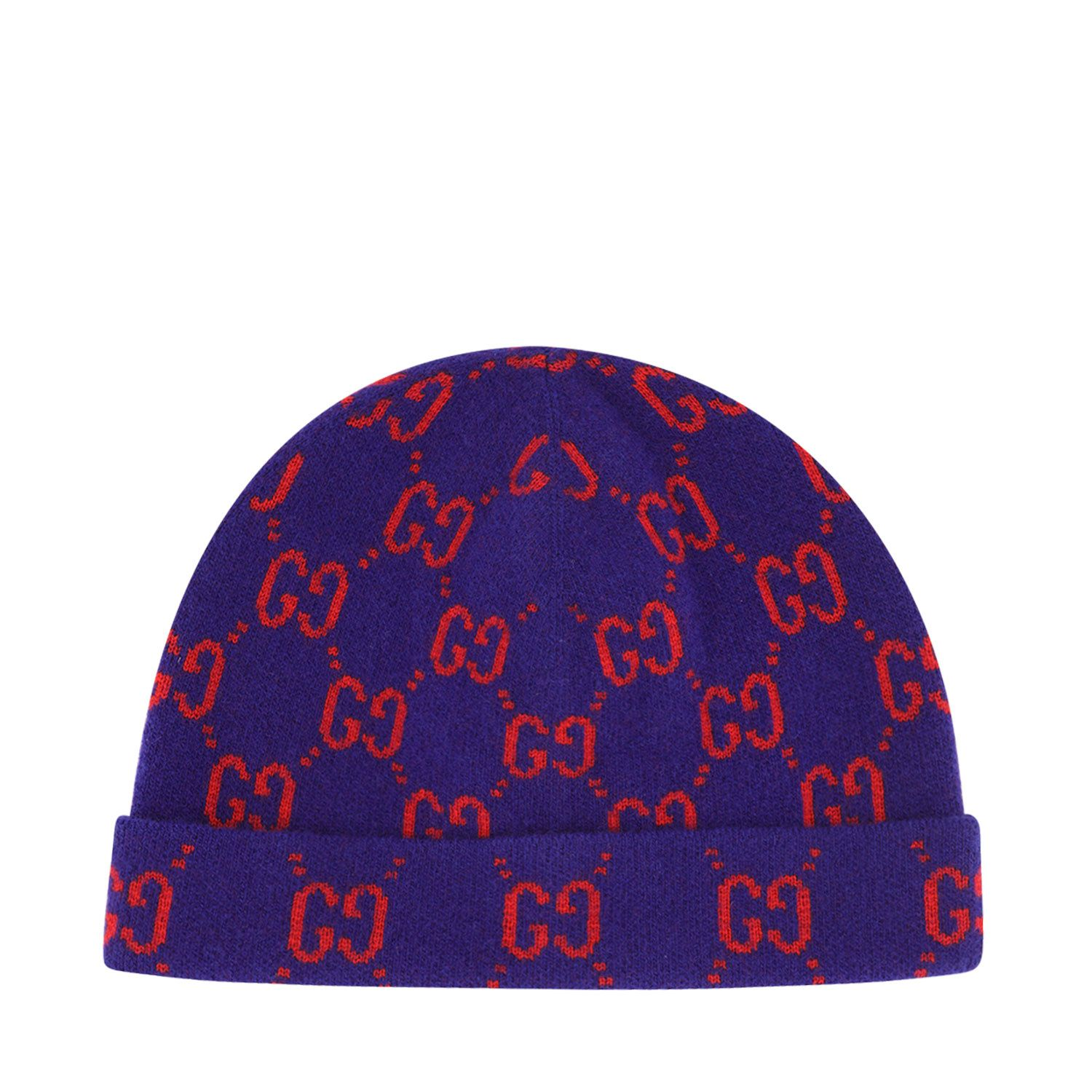 Picture of Gucci 627562 kids hat blue