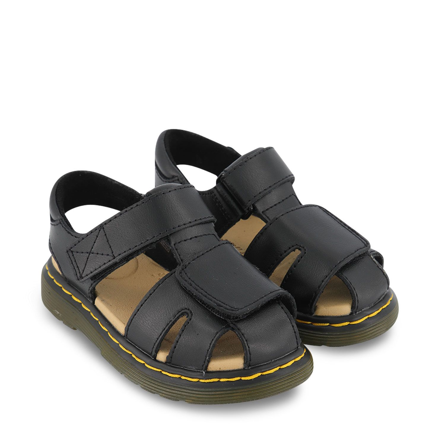 Picture of Dr. Martens 25863 kids sandals black