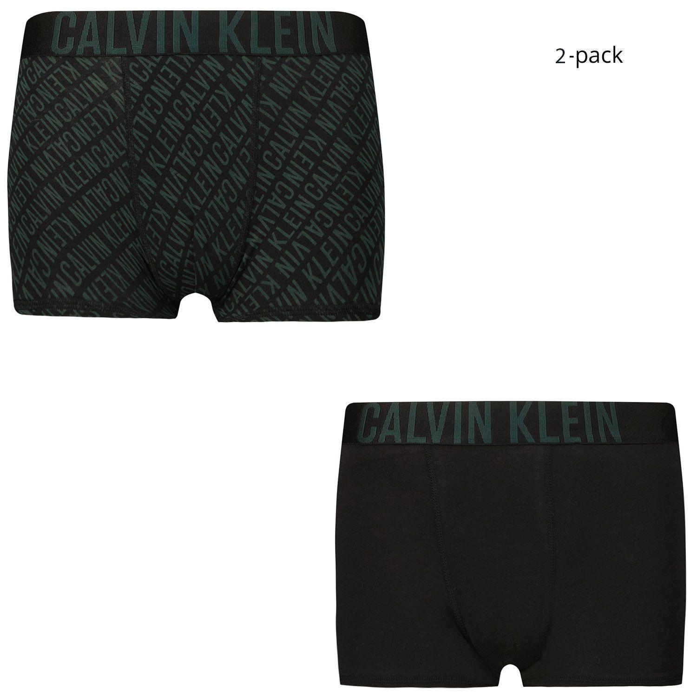 Picture of Calvin Klein B70B700344 kids underwear dark green