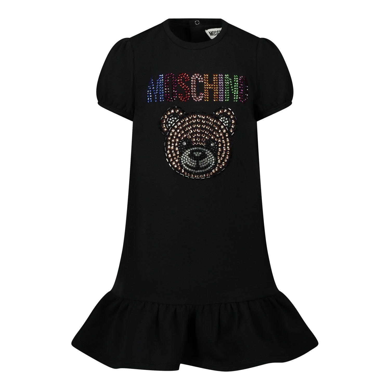 Picture of Moschino MDV08U baby dress black