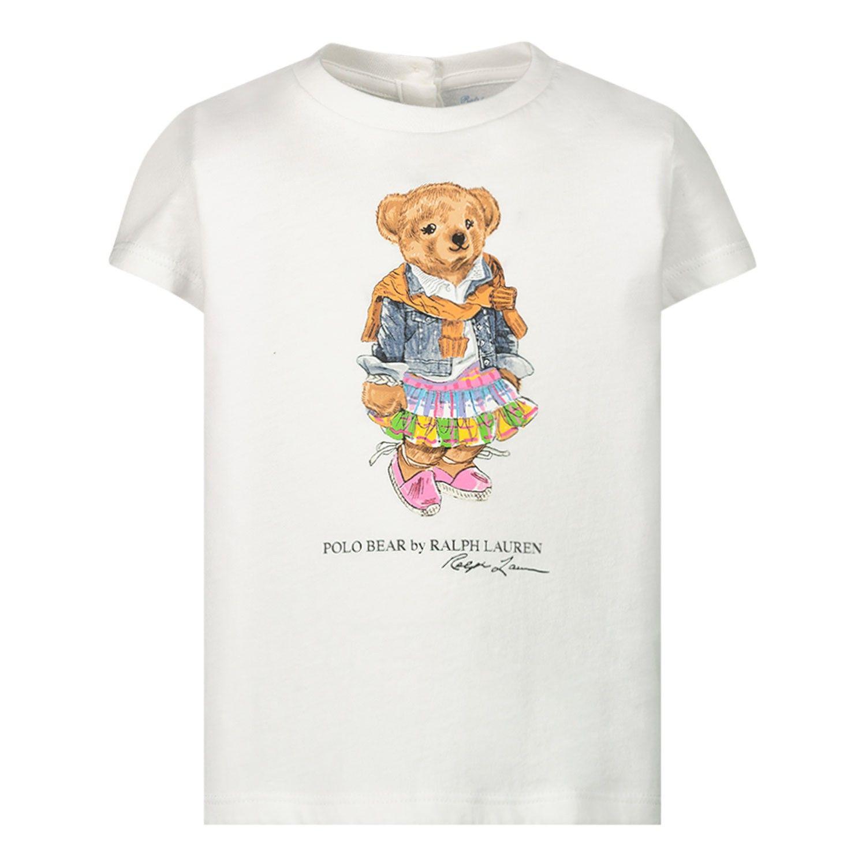 Bild von Ralph Lauren 790408 Baby-T-Shirt Weiß